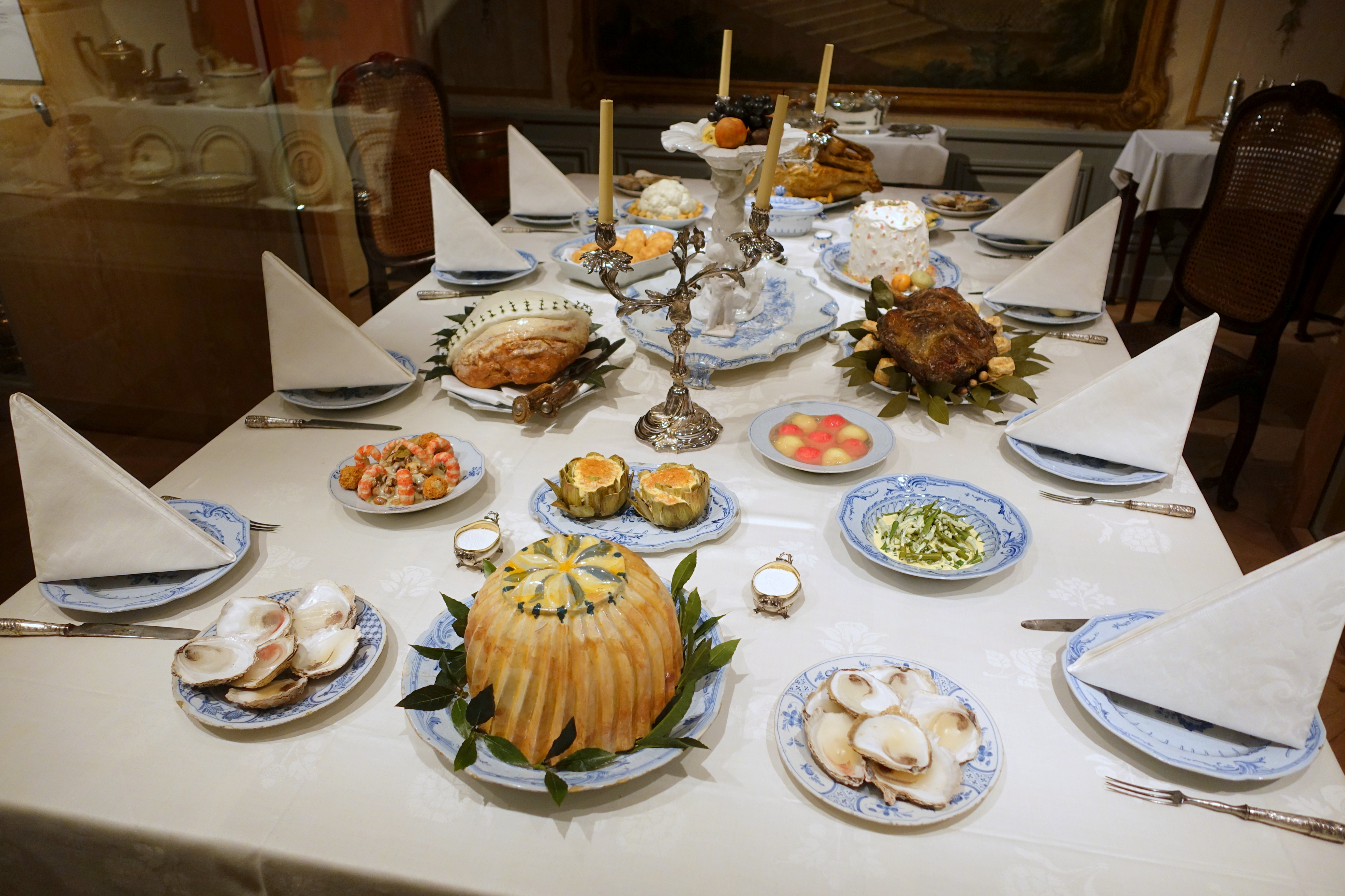 FileTable setting - Nordiska museet - Stockholm Sweden - DSC09798.JPG : history of table setting - pezcame.com