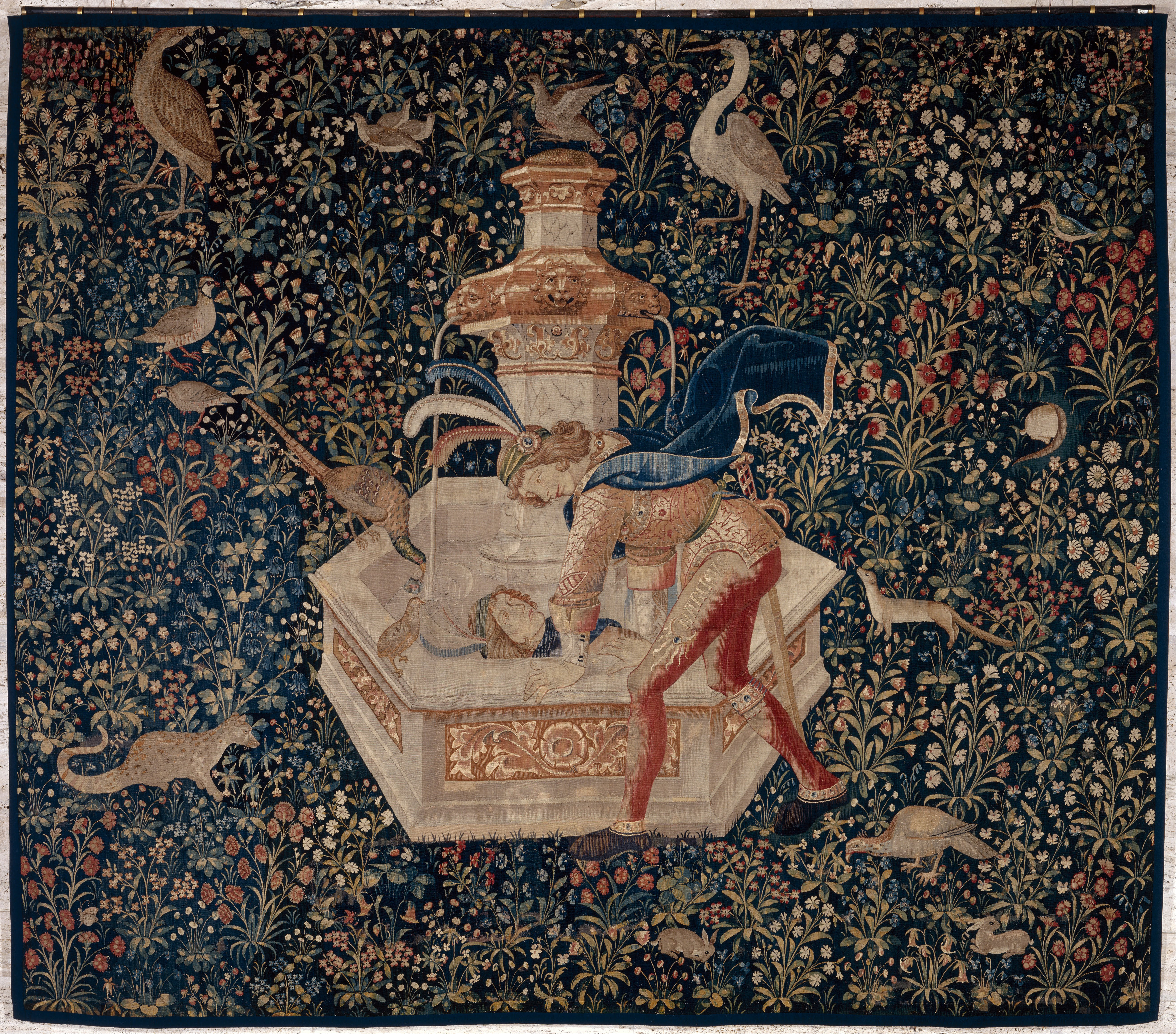 Tapiserija - Page 3 Tapestry-_Narcissus_-_Google_Art_Project