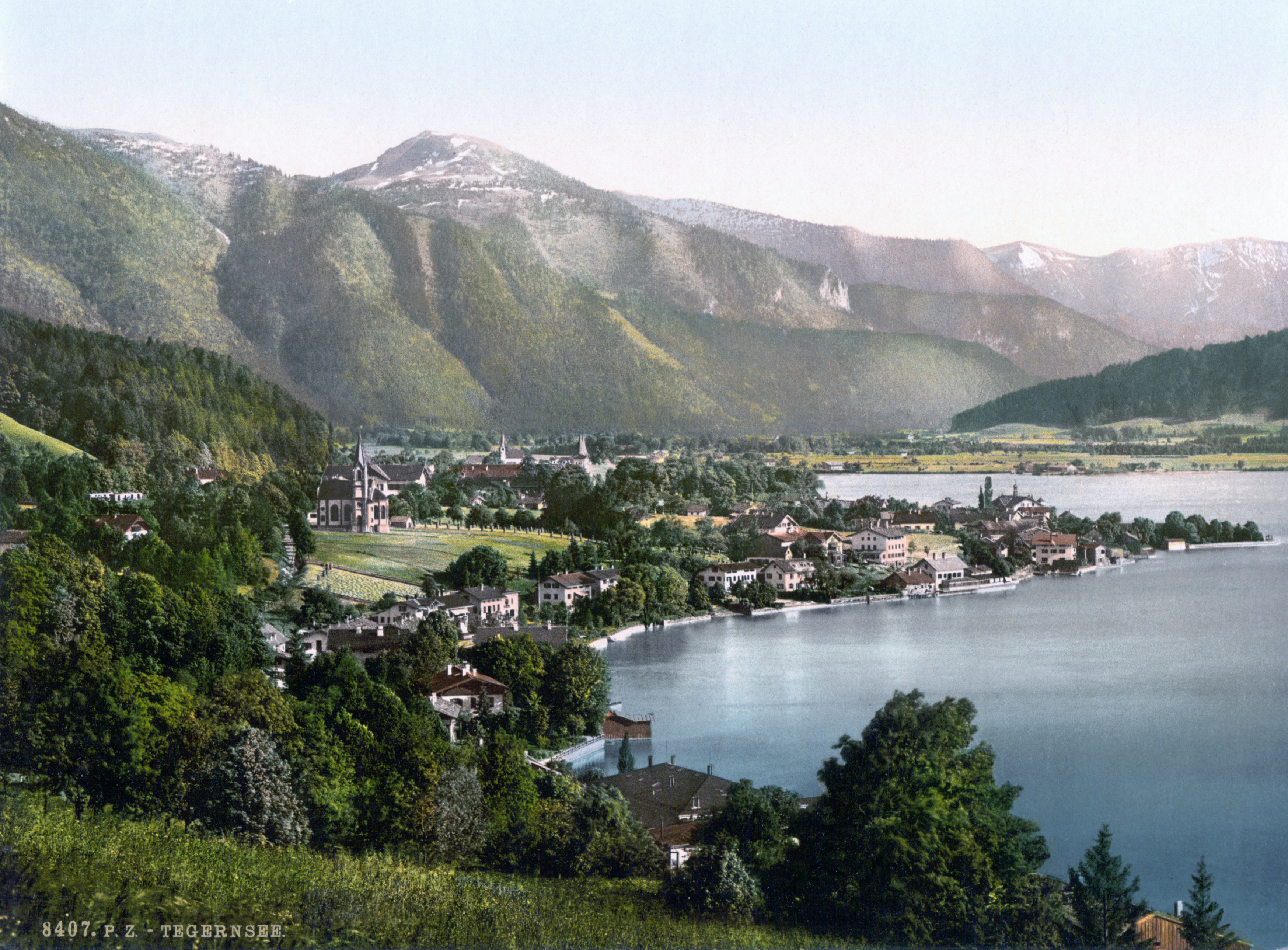 Tegernsee Germany  city photos : Description Tegernsee 1900