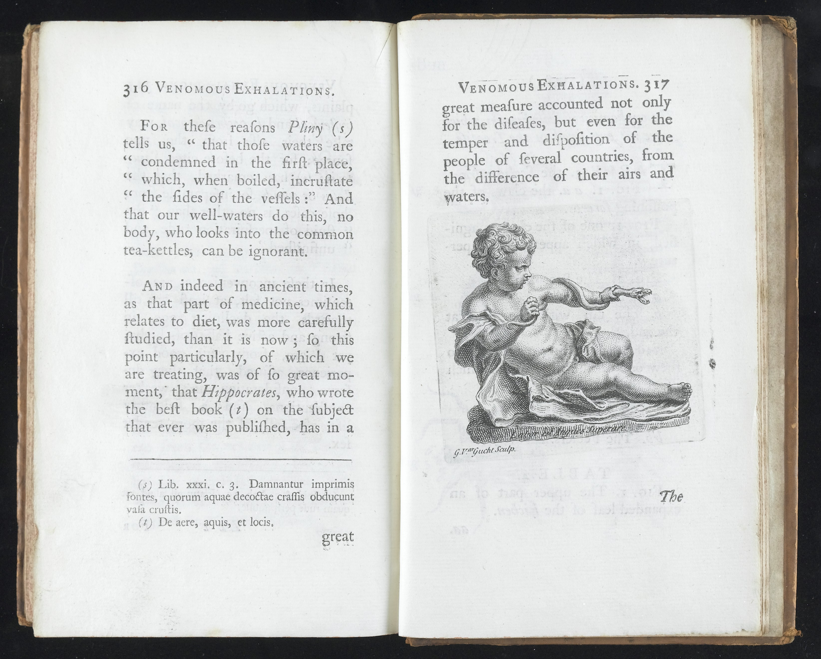 File:text With Tailpiece Of The Infant Hercules Wrestling A Snake Wellcome  L0046493g