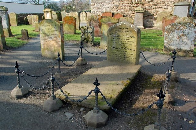 File:The Grave Of William Burns - geograph.org.uk - 1213358.jpg