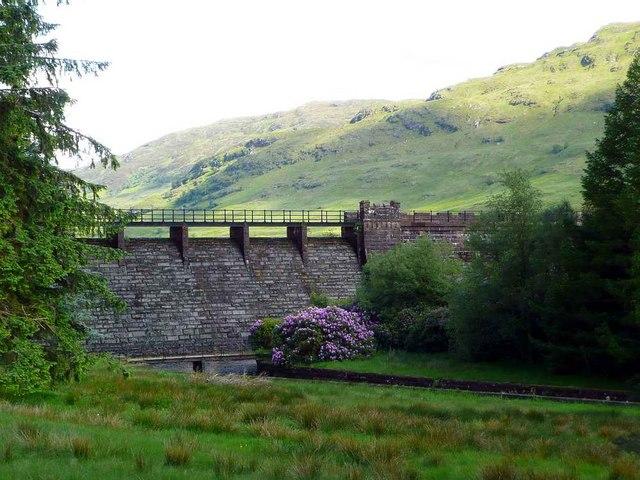 The Loch Arklet Dam - geograph.org.uk - 1343639