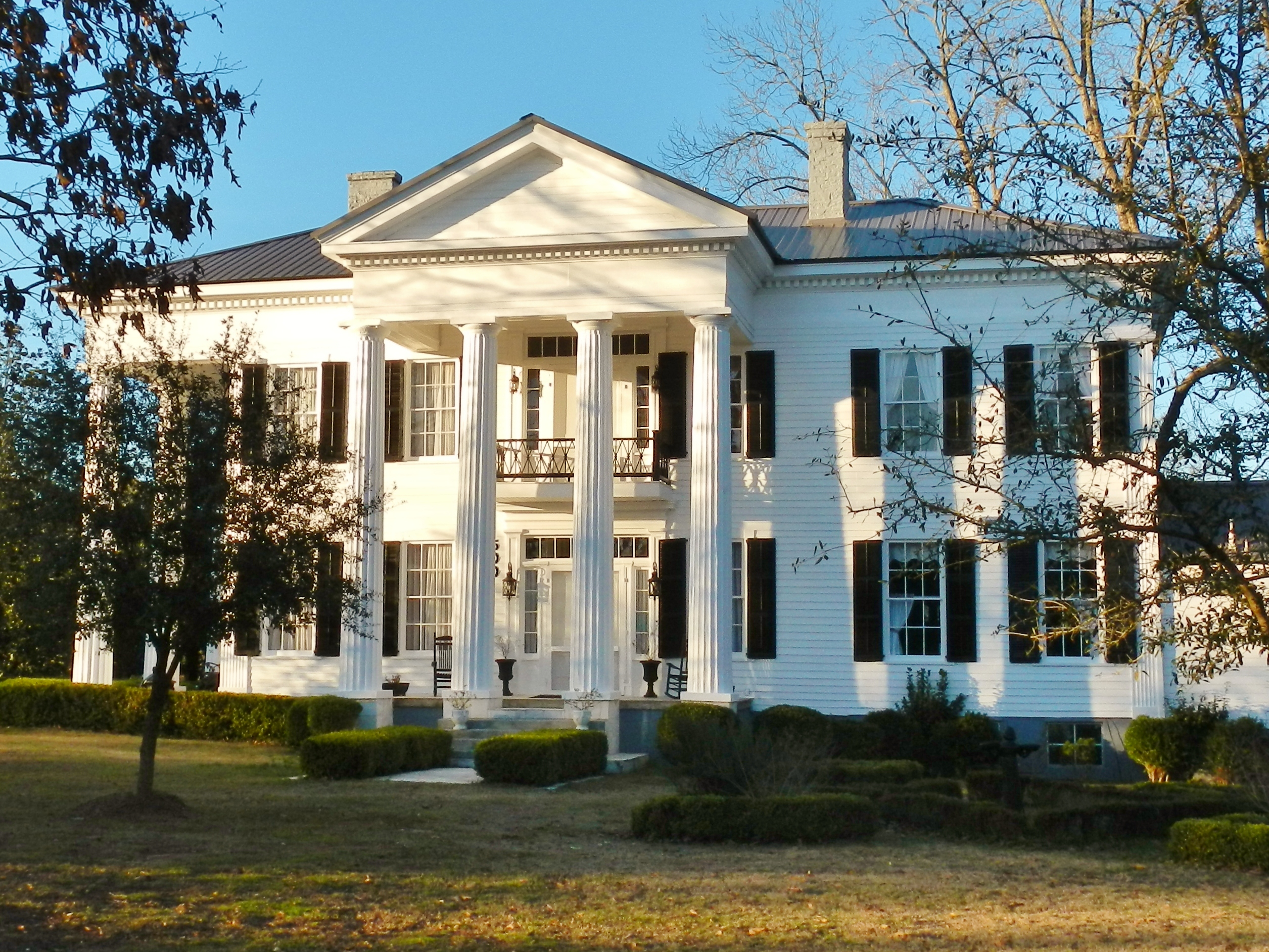 File The Pillars 1856 Lowndesboro Alabama Historic District on charleston sc mansions