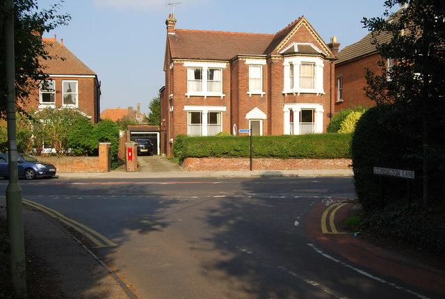 File:The end of Stuppington Lane, Canterbury - geograph.org.uk - 984394.jpg