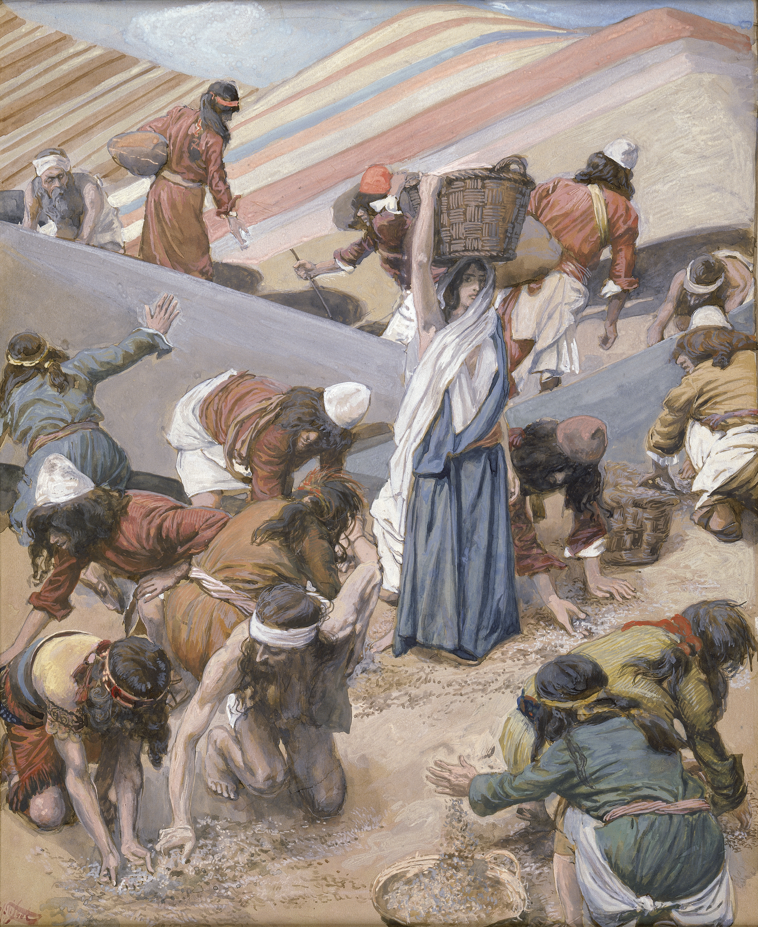File:Tissot The Gathering of the Manna (color).jpg