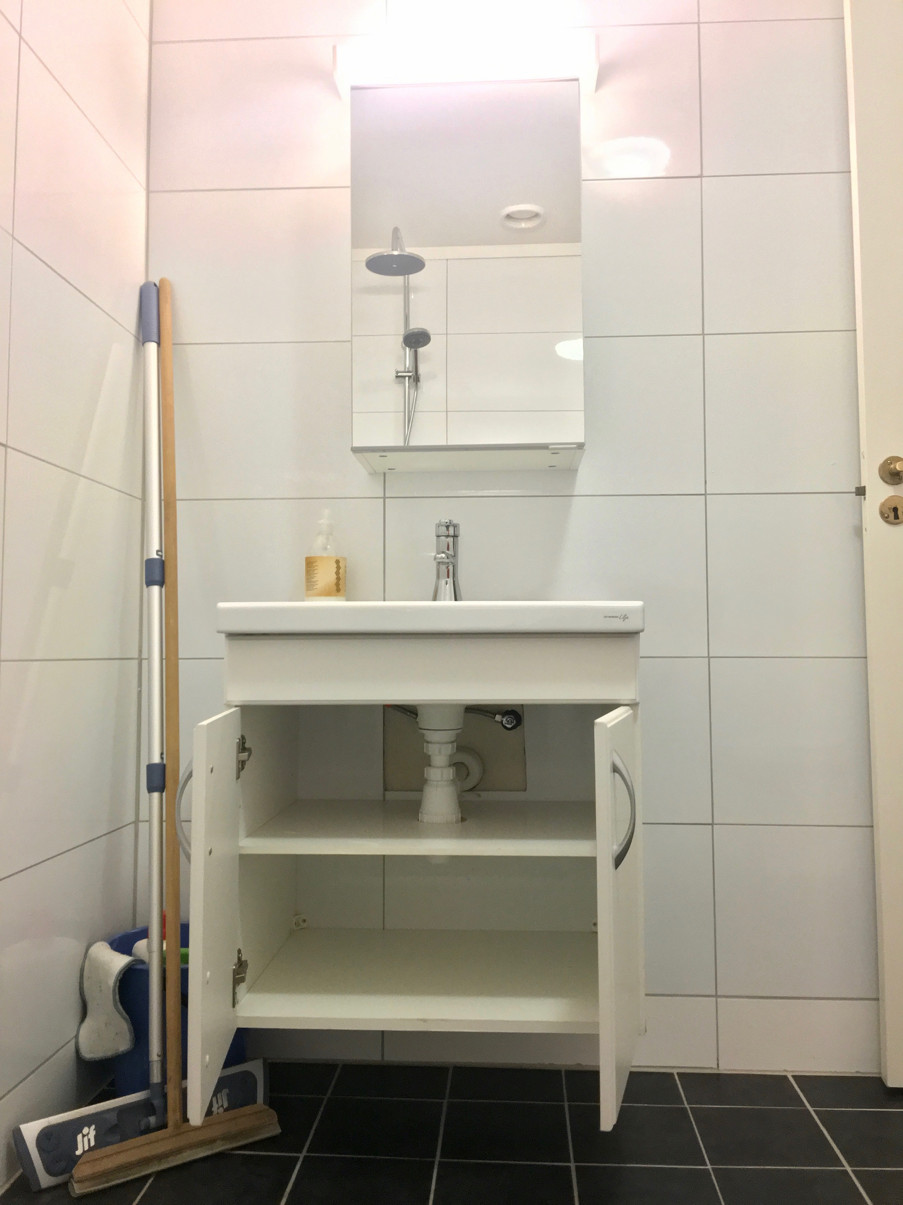 File Toilet Hand Wash Sink Mirror Etc In A Bathroom Small