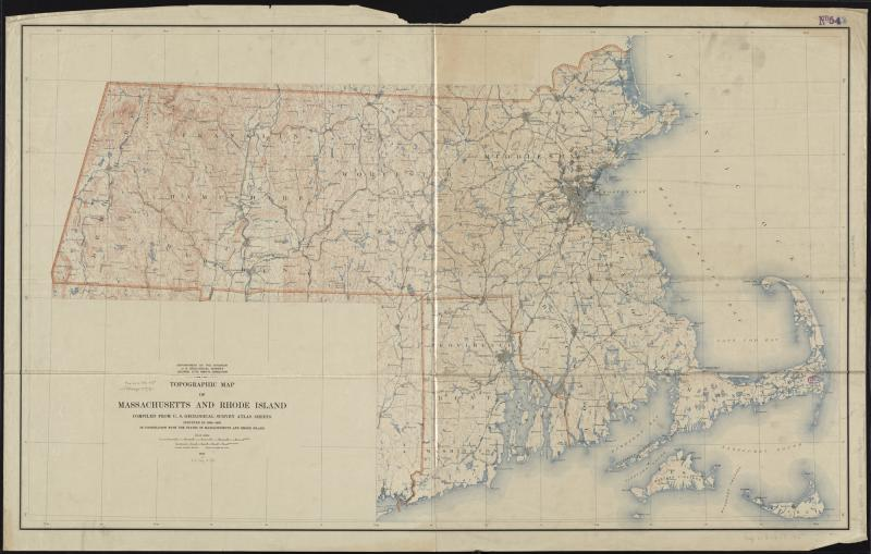 Topographic Map Rhode Island.File Topographic Map Of Massachusetts And Rhode Island 8345527561