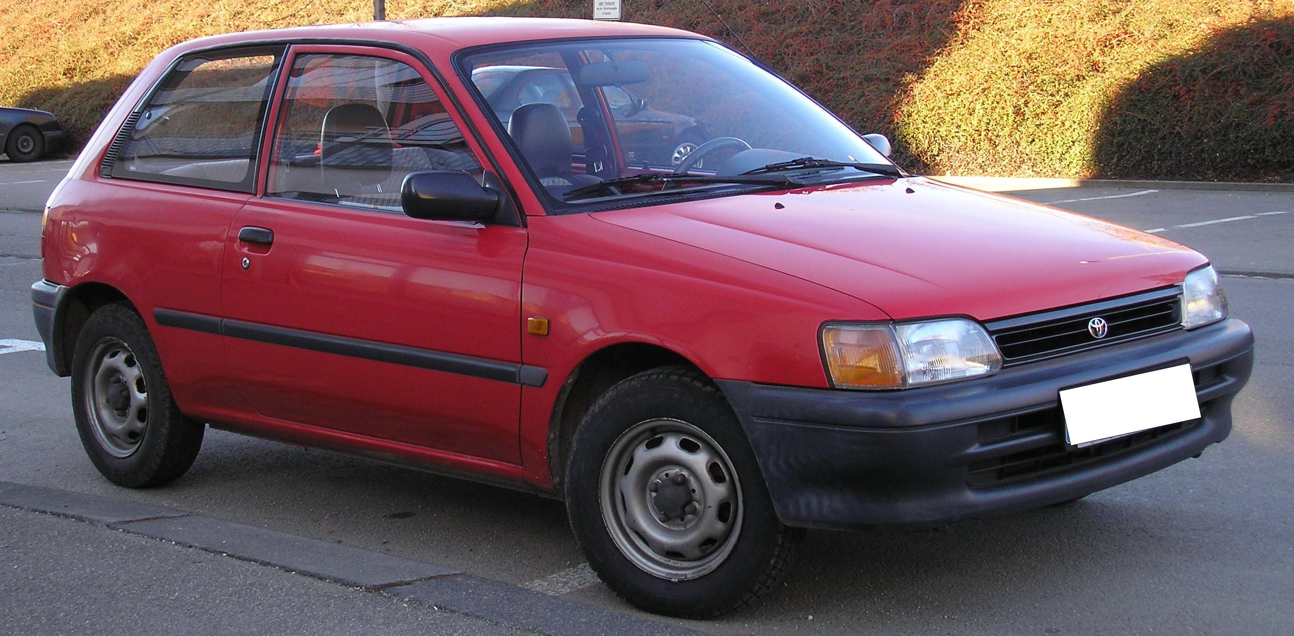 Toyota Starlet Glanza V Automatic (1995)