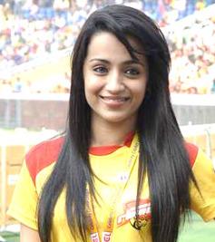 Trisha (actress) Indian actress
