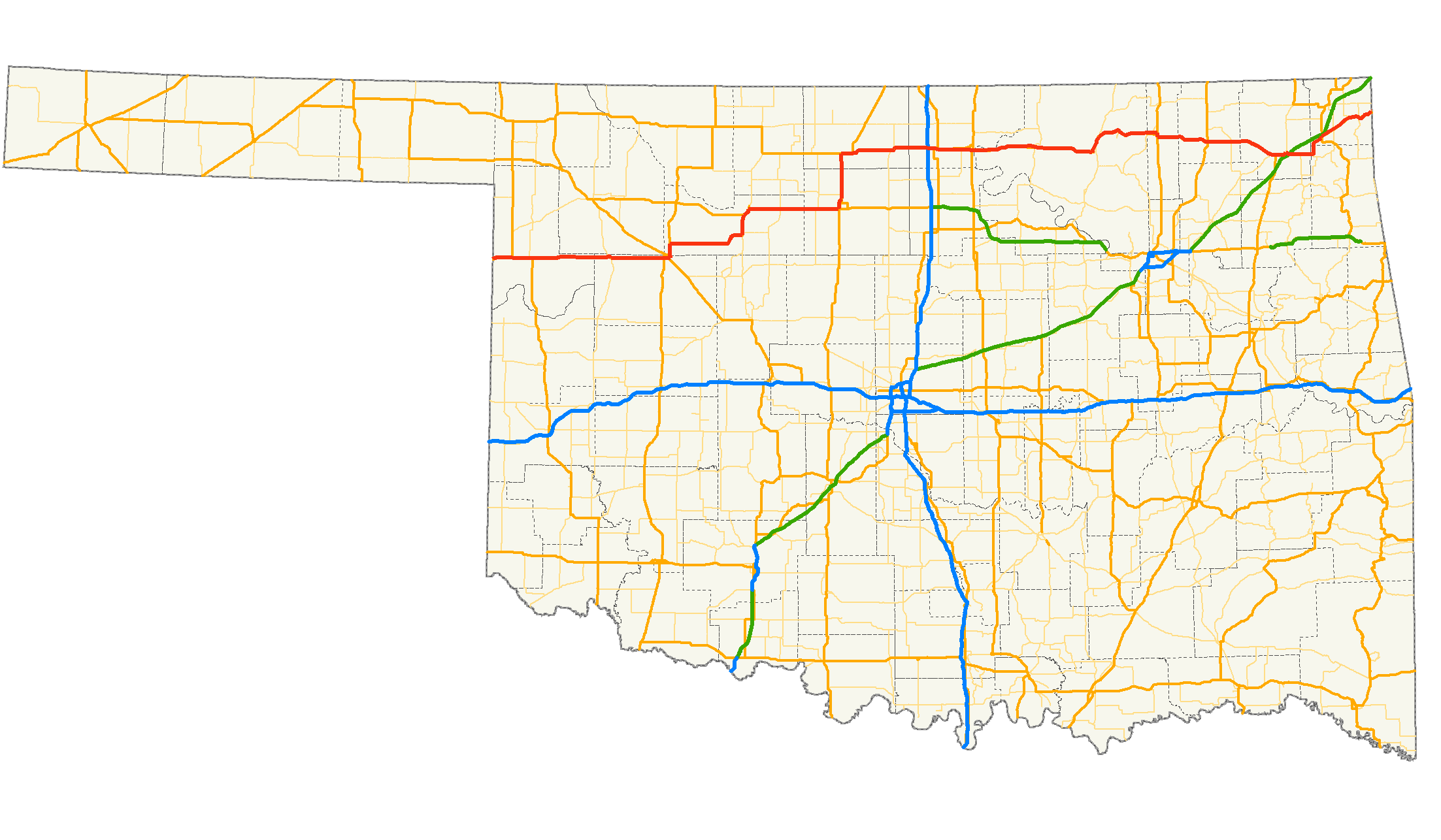 FileUS Oklahoma Mappng Wikimedia Commons - Oklahoma map us