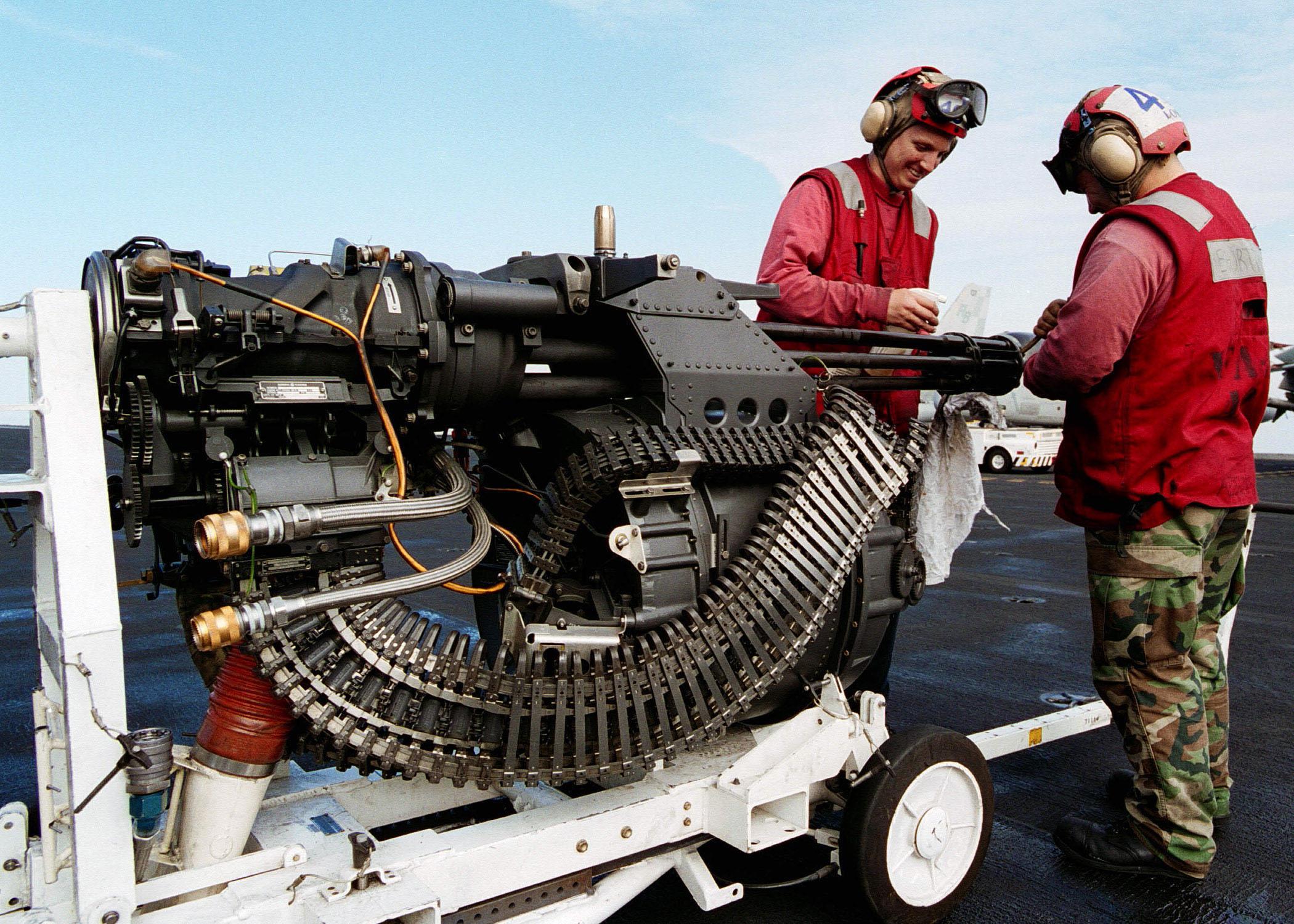 F-16 Armament - M61 A1 Vulcan
