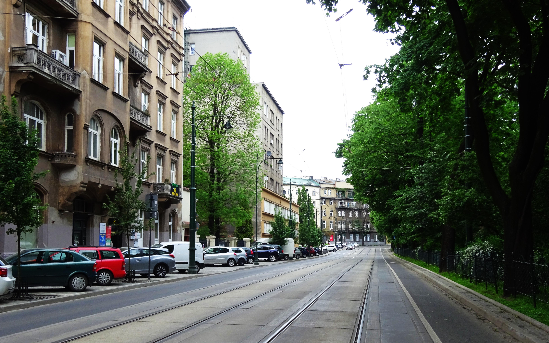 Ulica Juliana Dunajewskiego W Krakowie Wikipedia Wolna Encyklopedia