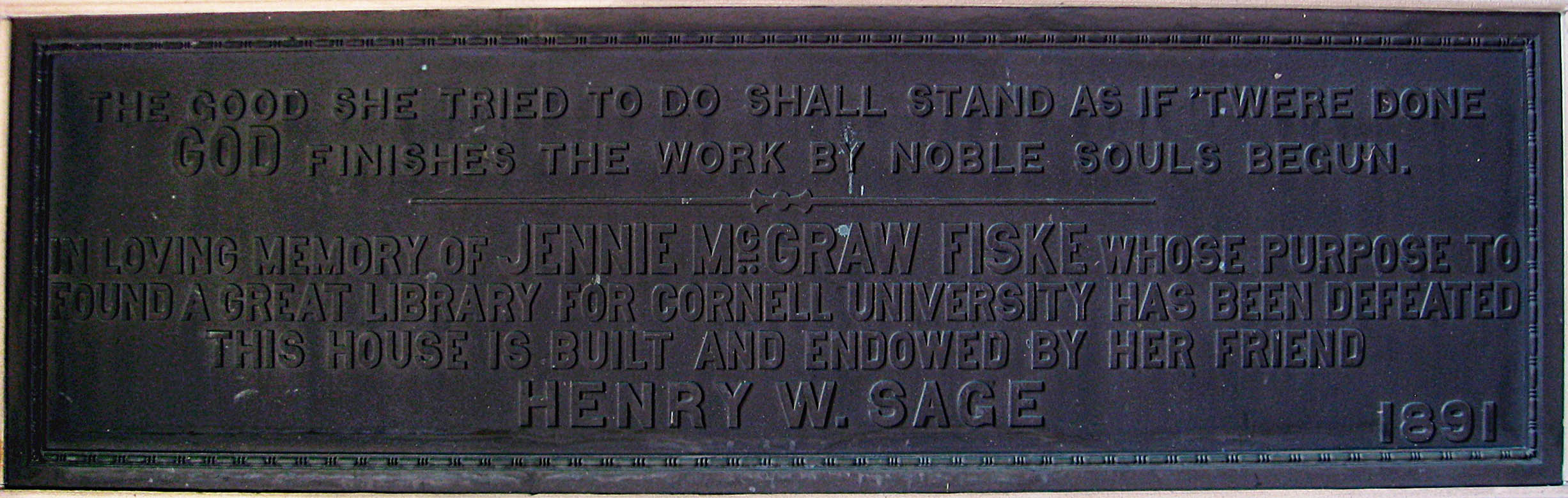 hospital dedication plaque example
