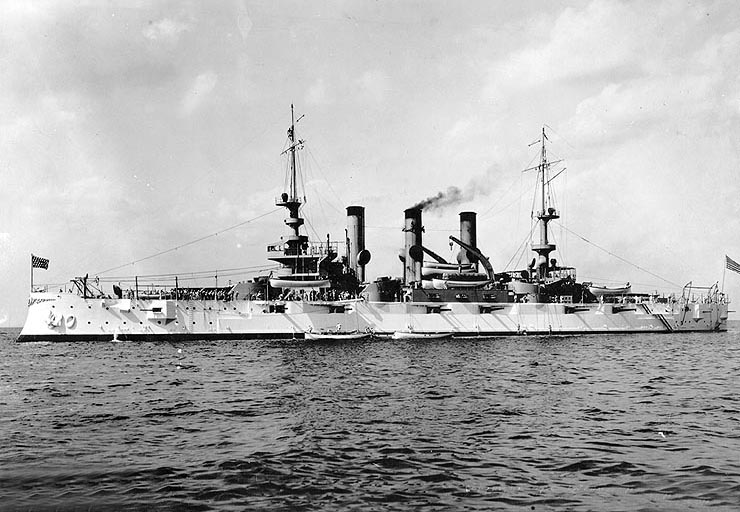 The USS Louisiana