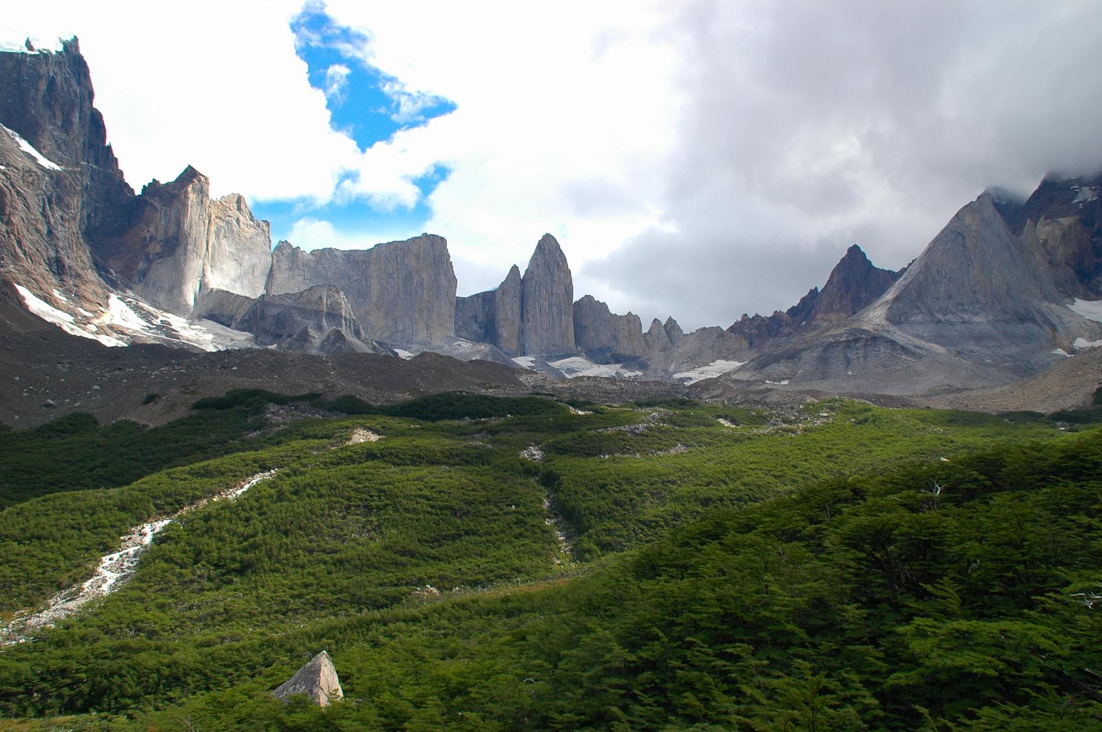 Mirador Británico, voor sommigen hét hoogtepunt van de ultieme W-Trek in Torres del Paine Nationaal Park