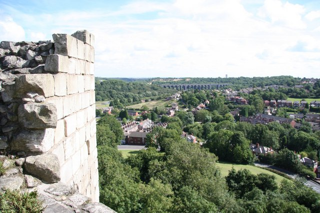 View from the keep - geograph.org.uk - 922005