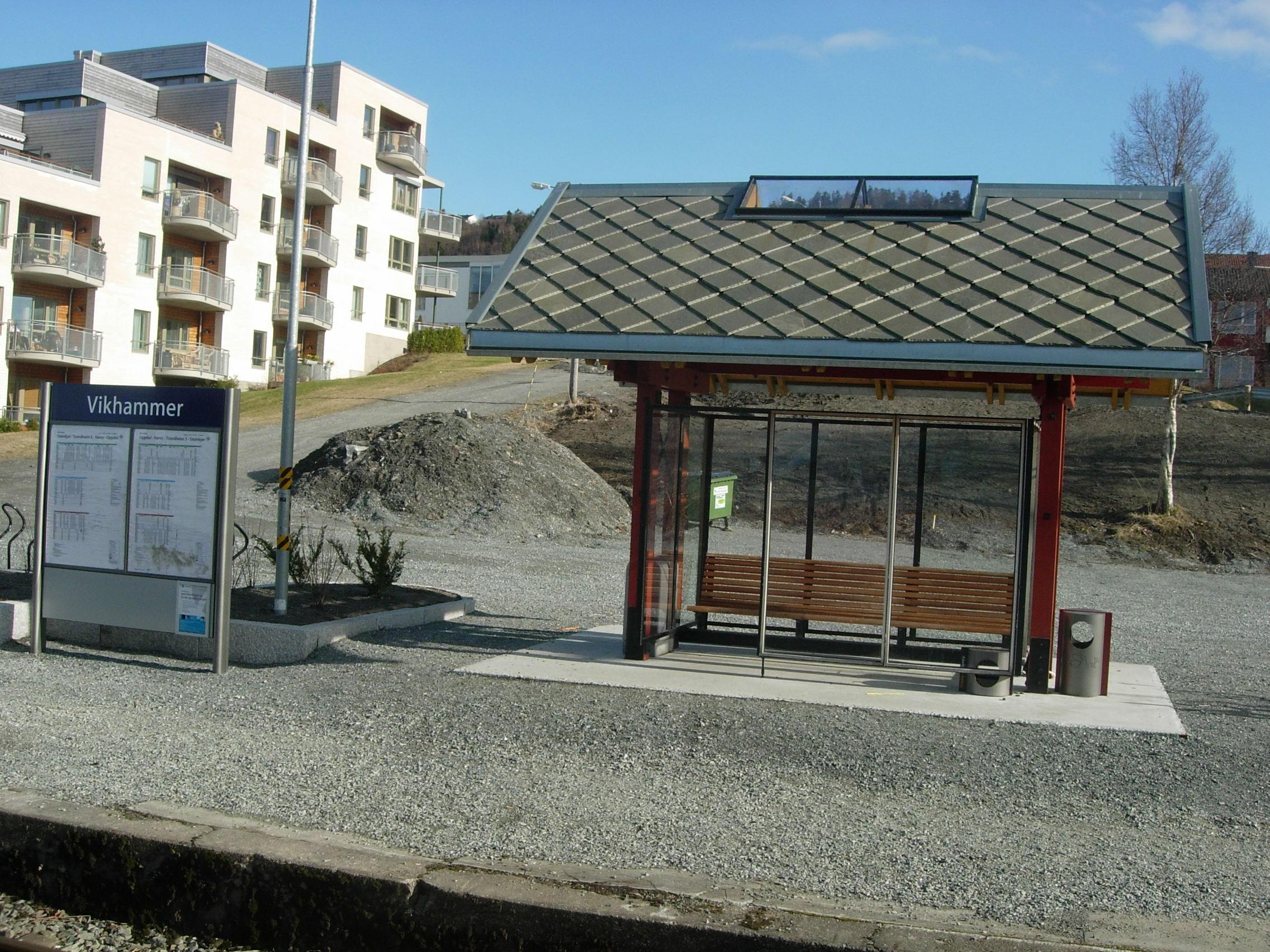 Vikhammer stasjon