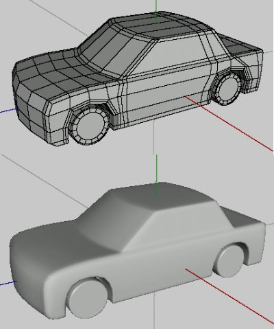 Wings 3dtutorialsbox Modeling A Car With All Quad