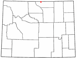 Parkman, Wyoming CDP in Wyoming, United States