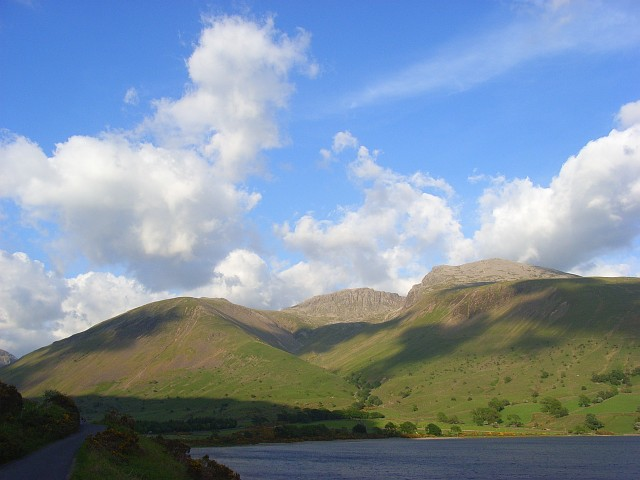 Wast Water and the Scafells - geograph.org.uk - 829033