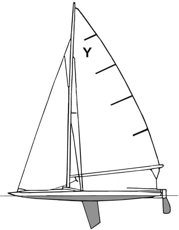 Free Sailboat Coloring Page