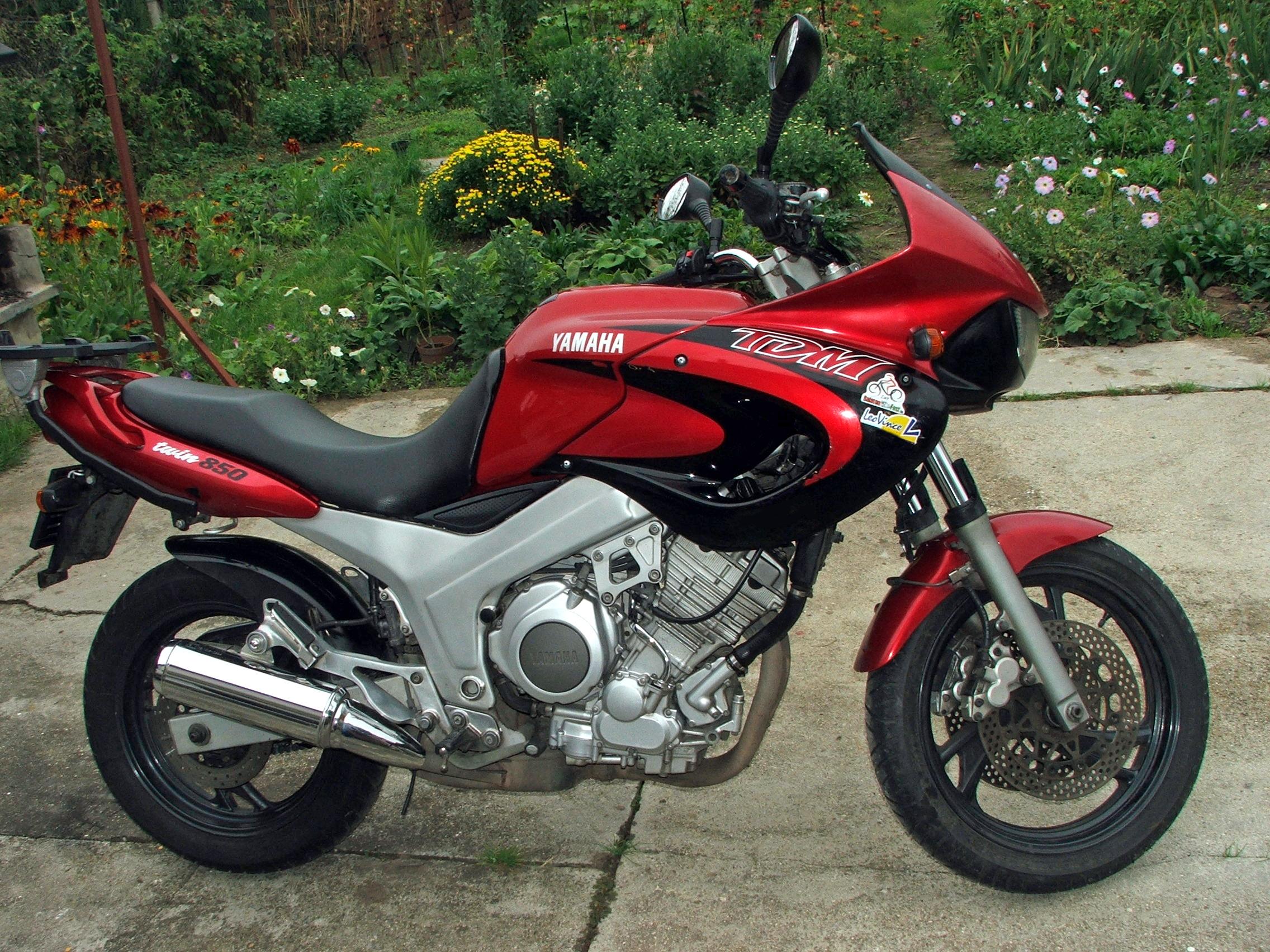 Yamaha TDM85 : Законнорожденный — сайт За рулем