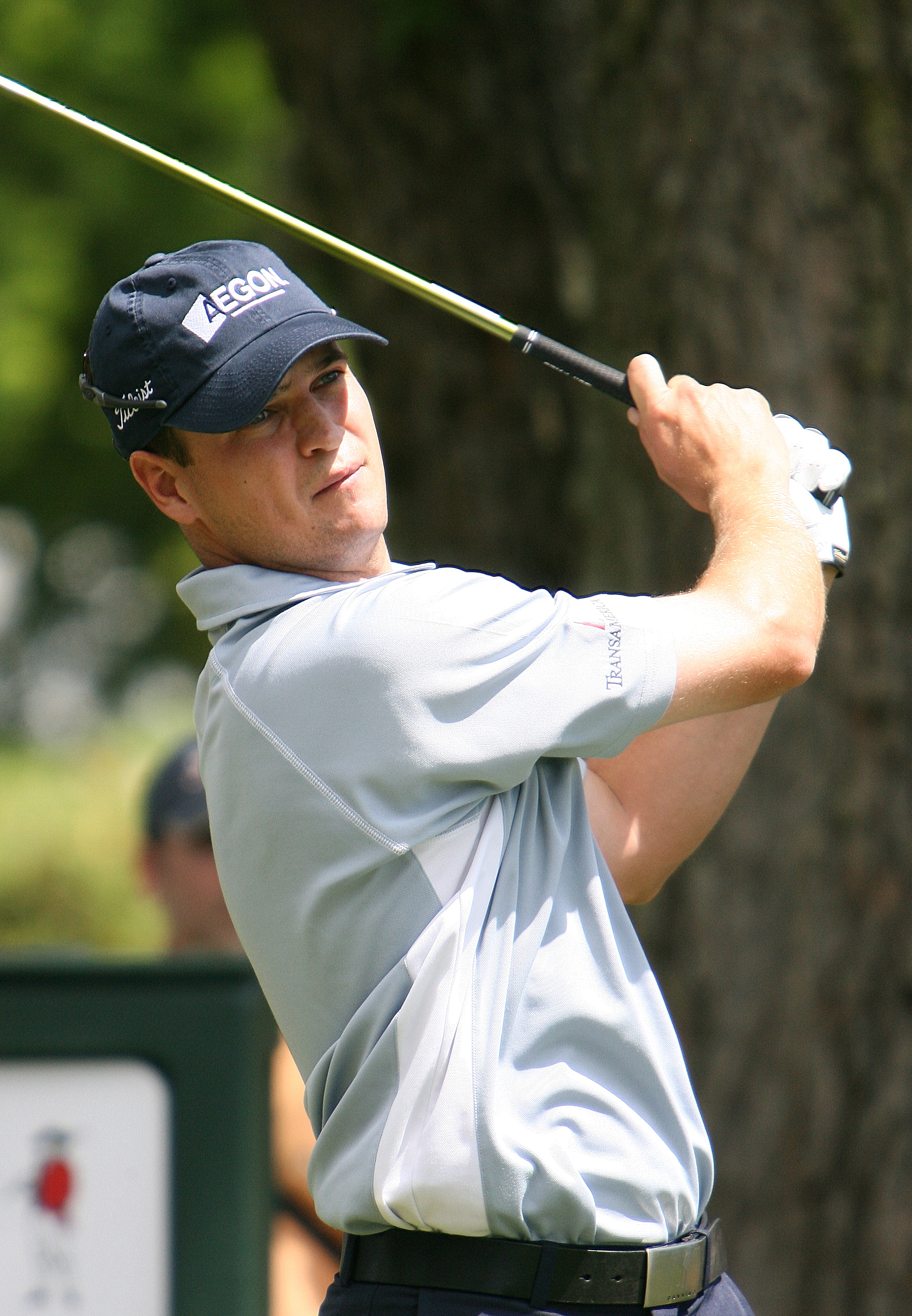 English: An image of golfer Zach Johnson on to...