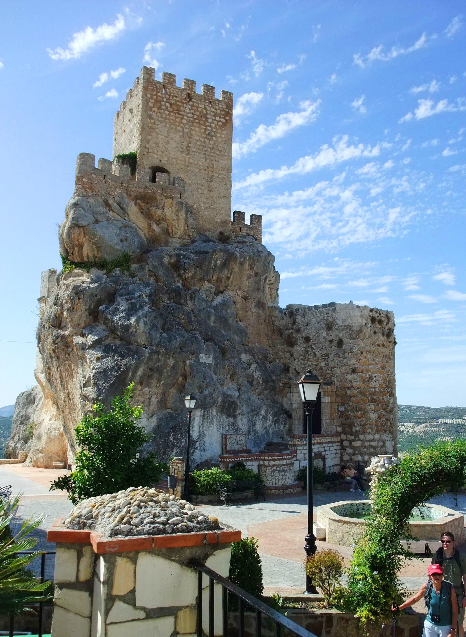 Zuheros castle, Spain