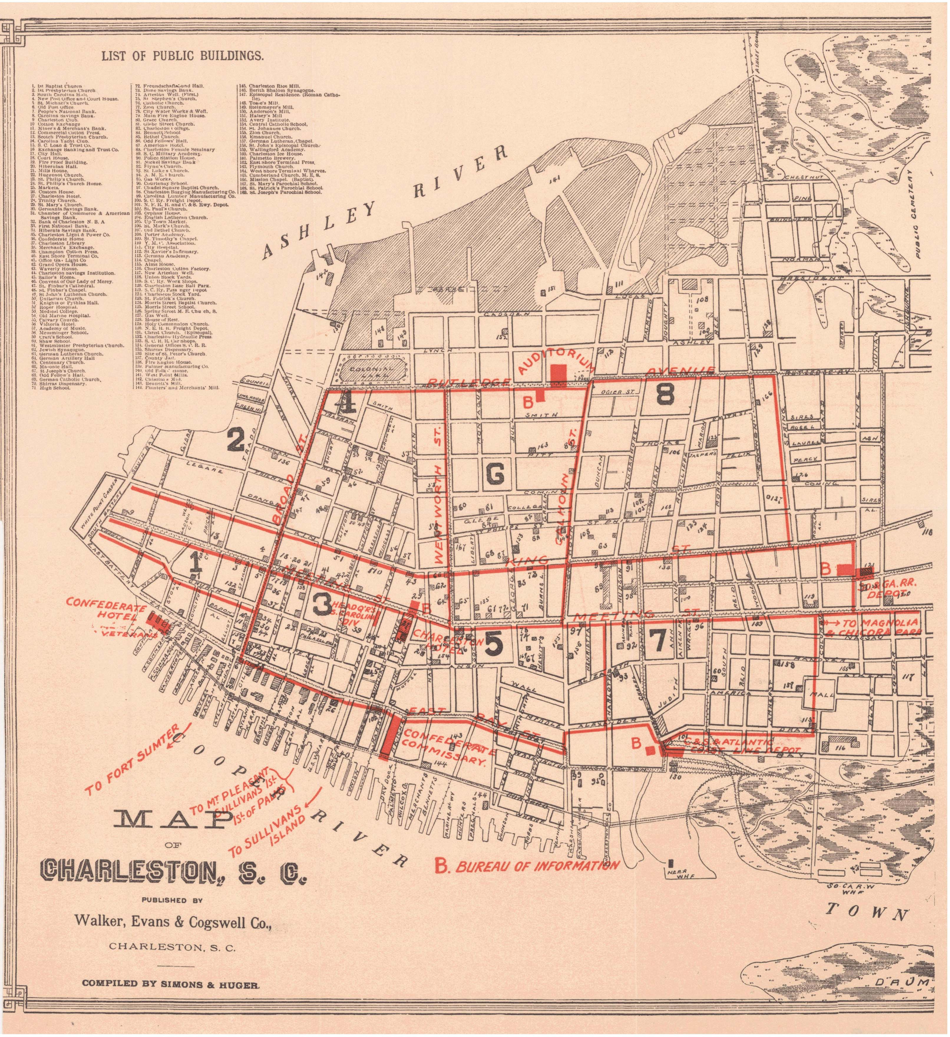 File 1890 map of charleston south for How do i get to charleston south carolina