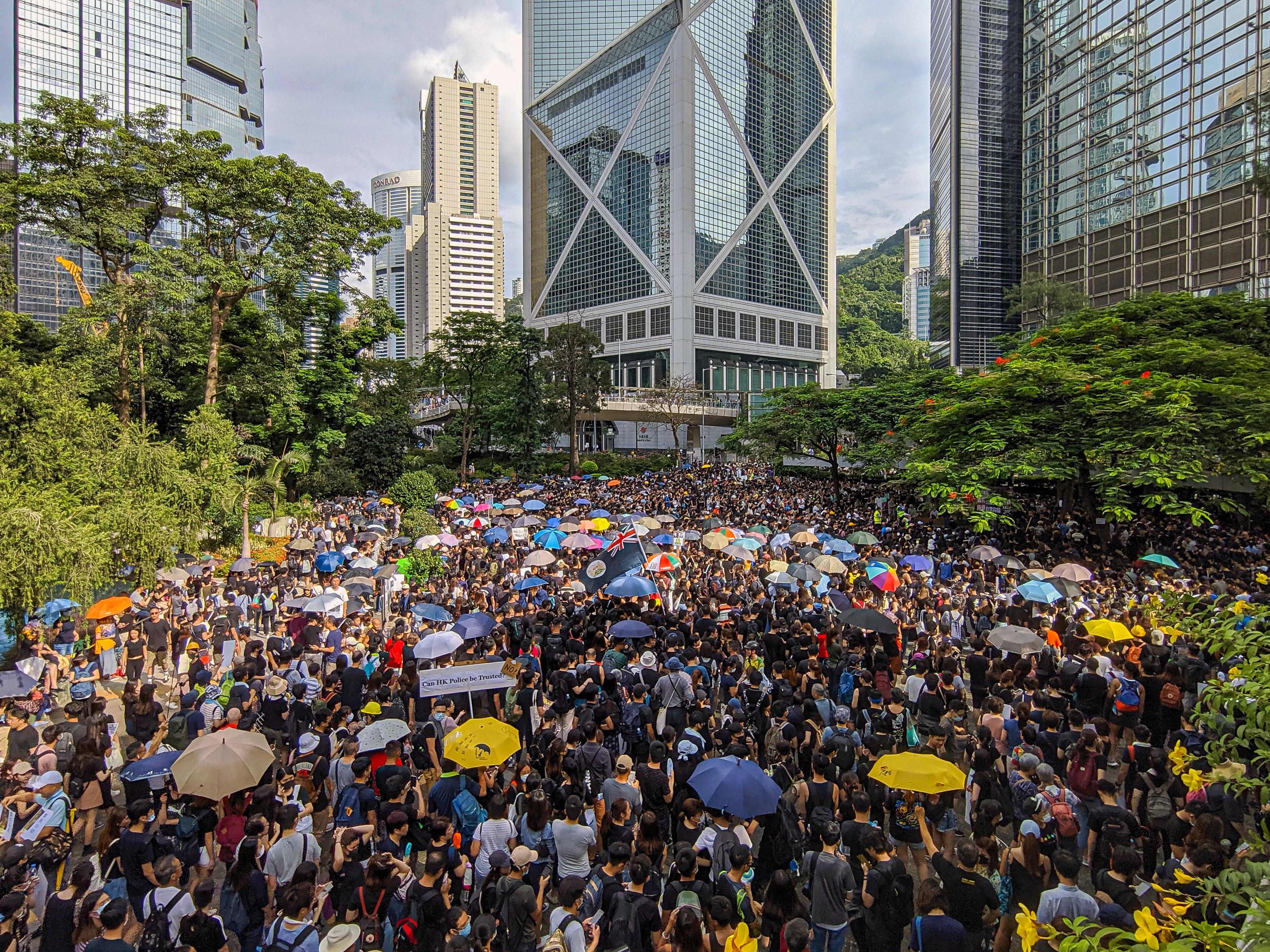 Resultado de imagen para hong kong before and after protest