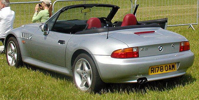 File BMW Z Roadster Rear Leftjpg Wikimedia Commons - Bmw 23