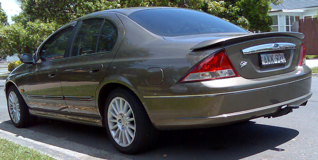 File2000 Ford Fairmont AU II Ghia 75th Anniversary sedan 2008