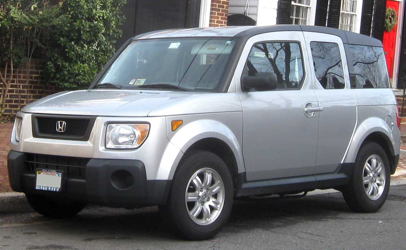File 2006 Honda Element Ex P Jpg Wikimedia Commons