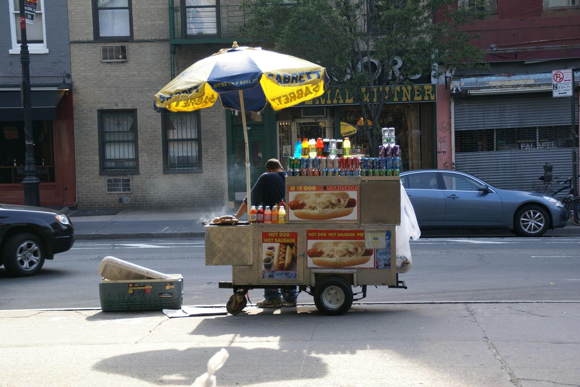 Hot Dog Vendor Near Me