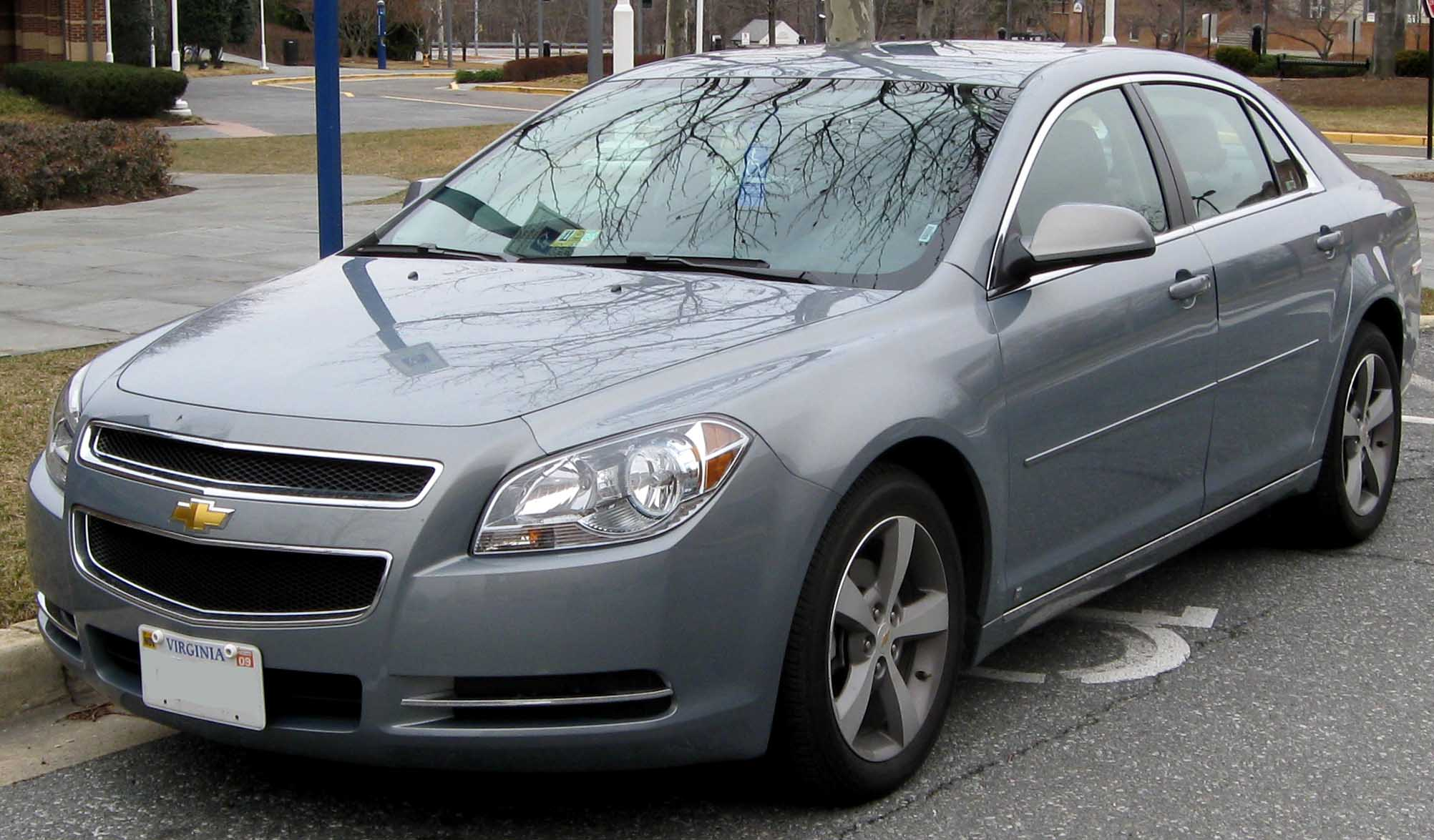 File2008 Chevrolet Malibu LT jpg  Wikimedia Commons
