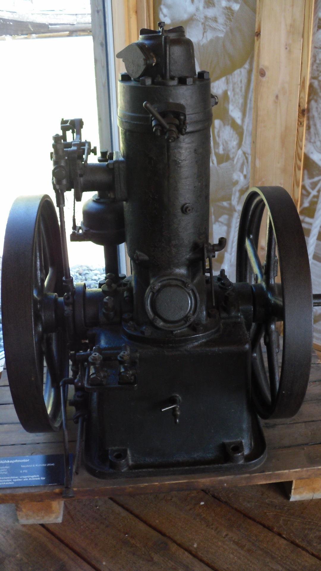 Schiffsmotor Ps