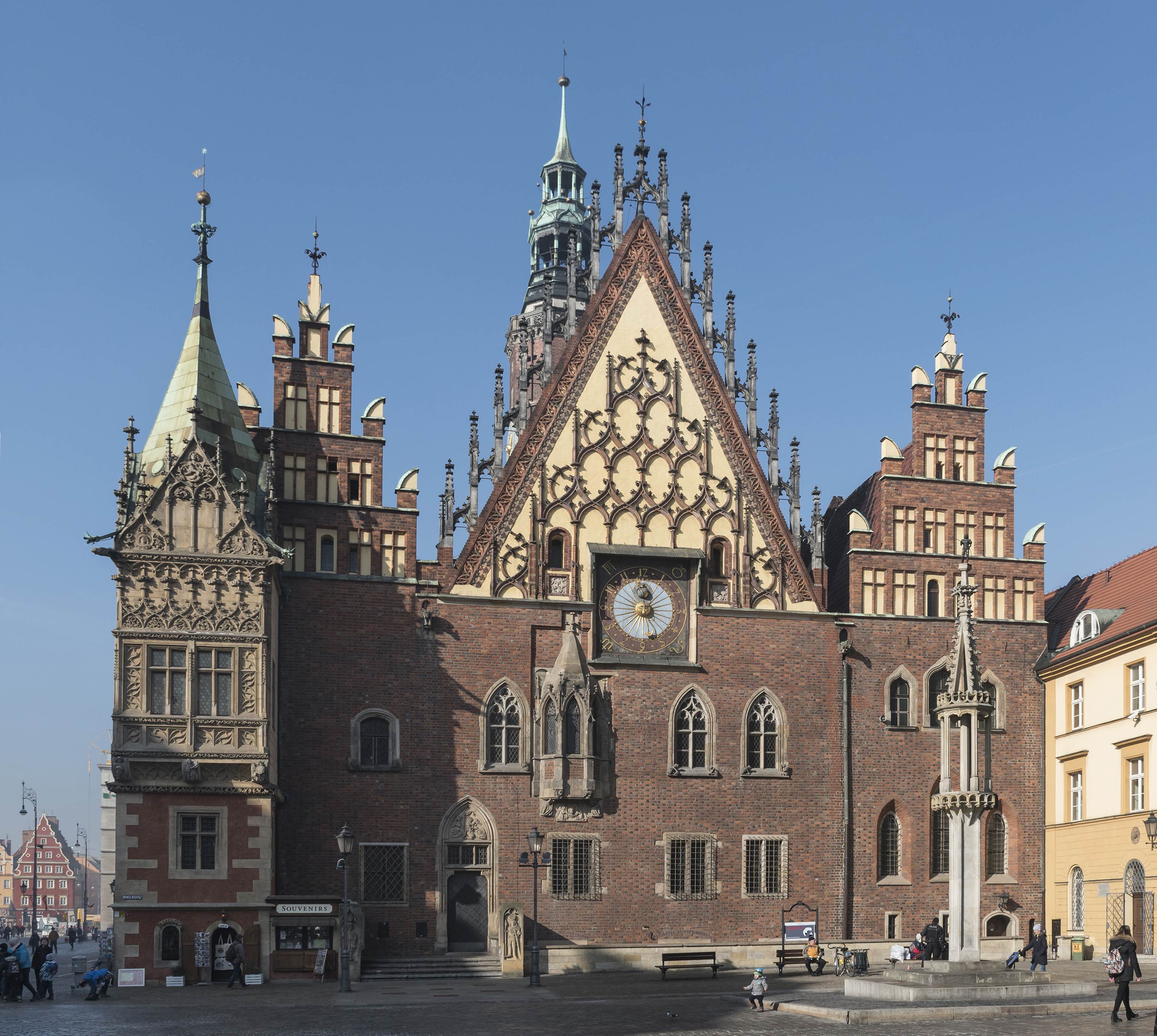 Gothic Town Hall of Wrocław