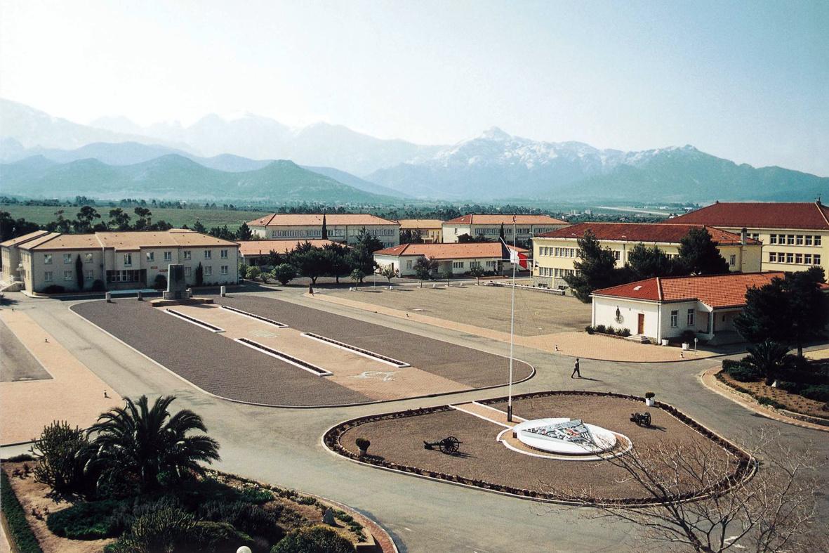 Des  images légion en  Corse et  ailleur 2REP_Camp-_Raffalli