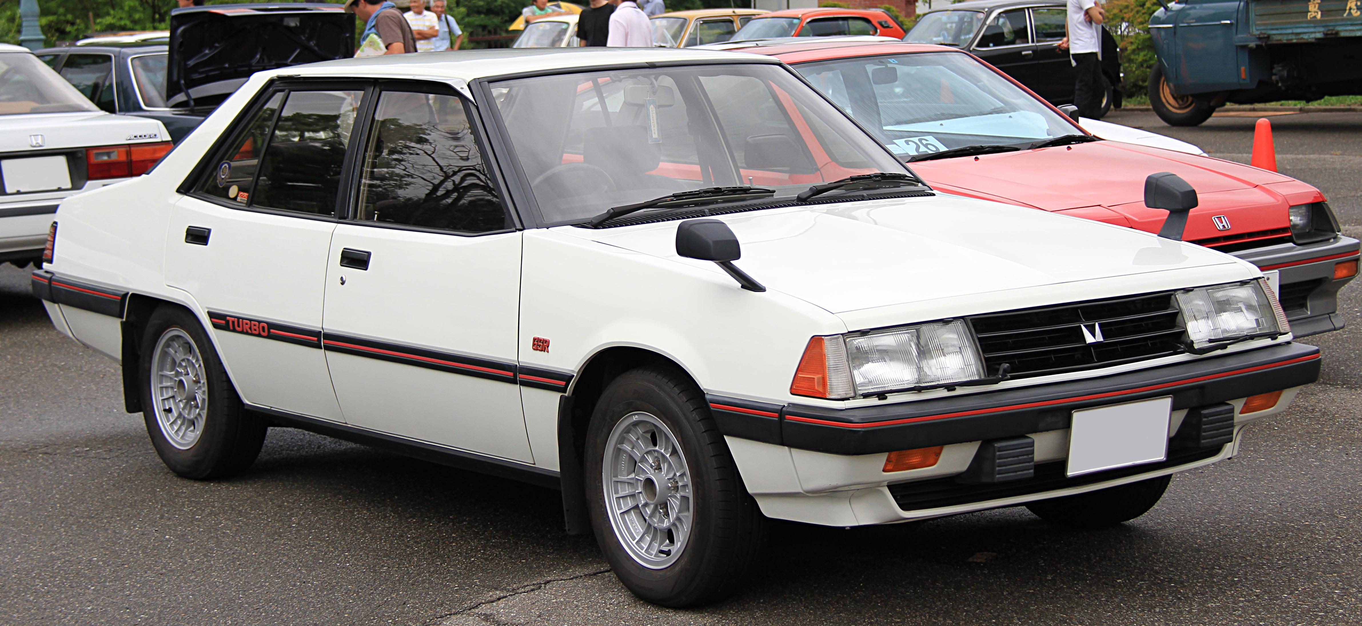 Mitsubishi galant 1982