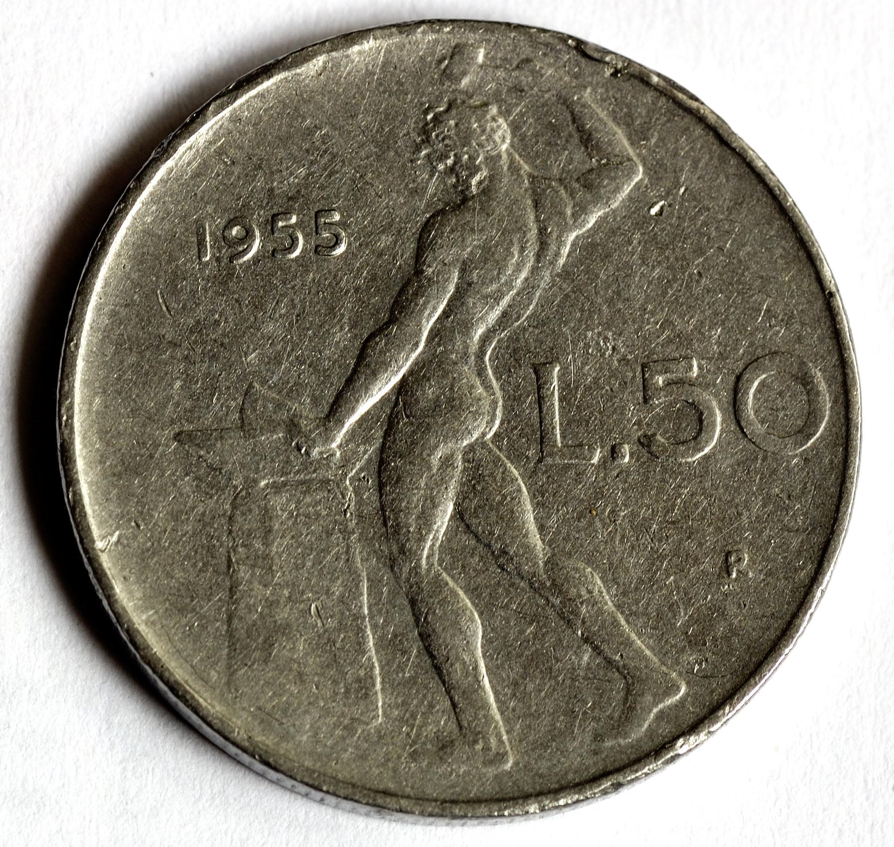 On The 50 Lire