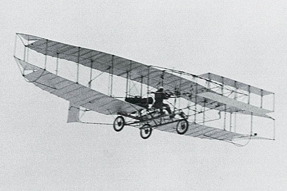 the first who invented the airplane
