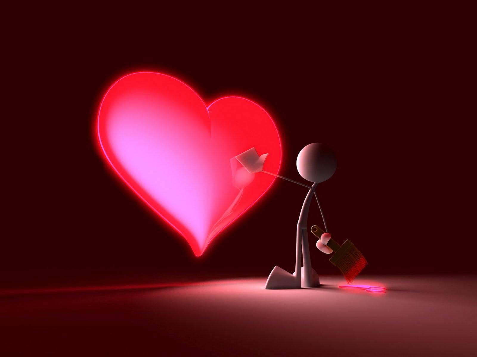 Archivo Ab95c Pintando Un Corazon De Amor 14 De Febrero Dia De San