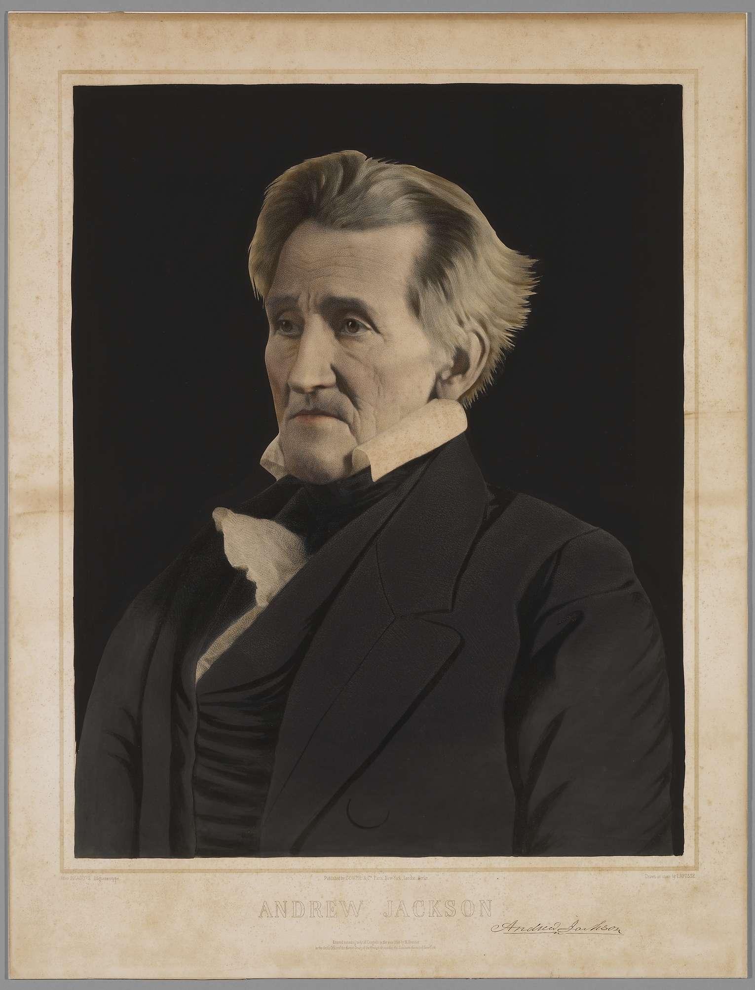 andrew jackson first modern president