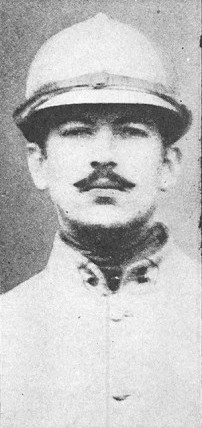 American poet Alan Seeger (1888-1916), in his Marching Regiment uniform. Alan seeger foreign legion.jpg