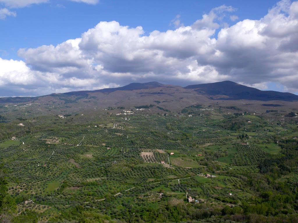 Monte Amiata, visto da Montegiovi