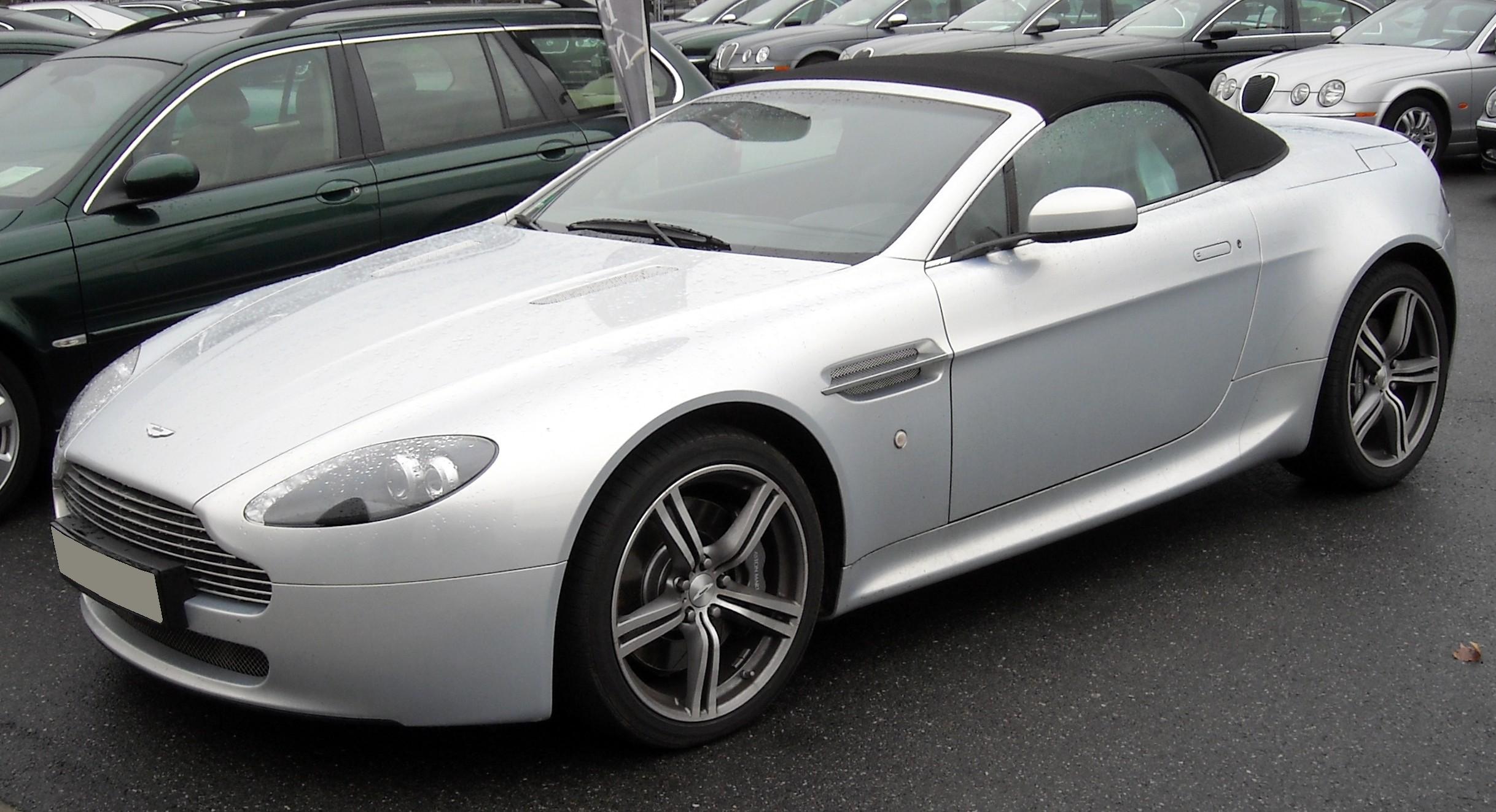 file:aston martin v8 vantage roadster silver front 20081204