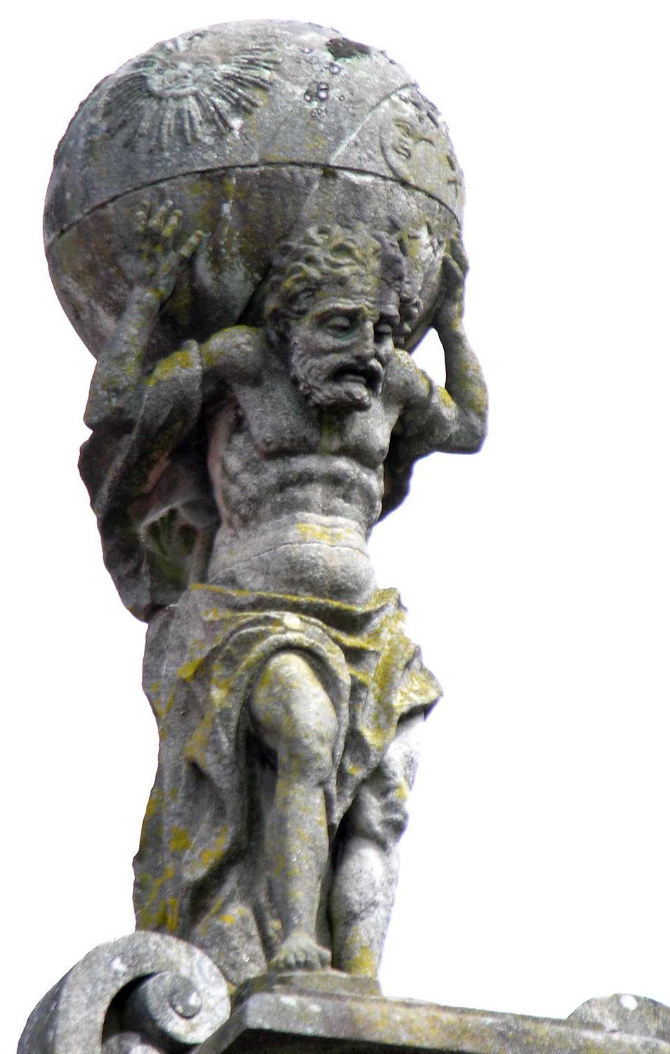atlas symbols greek mythology