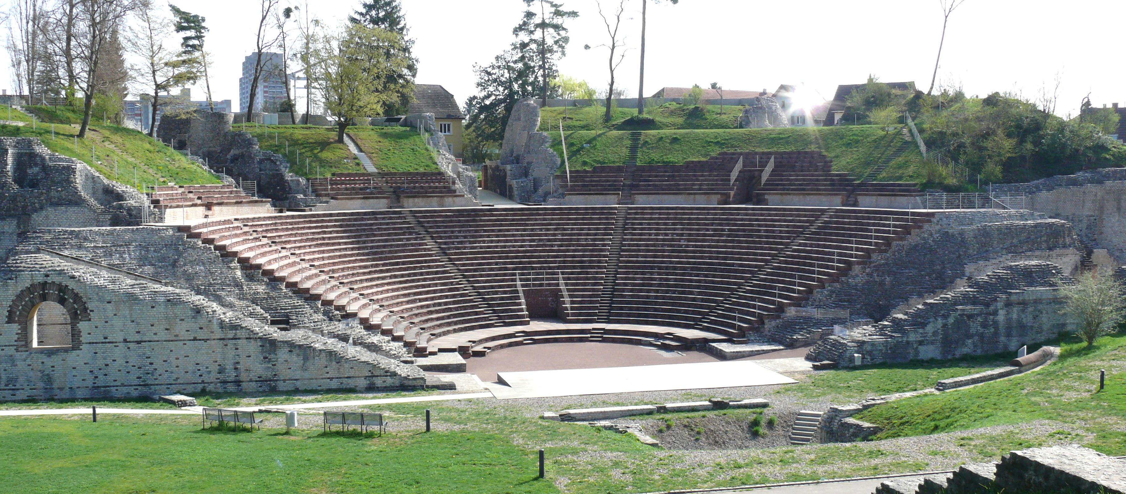 File Augusta Raurica Theater Jpg Wikimedia Commons
