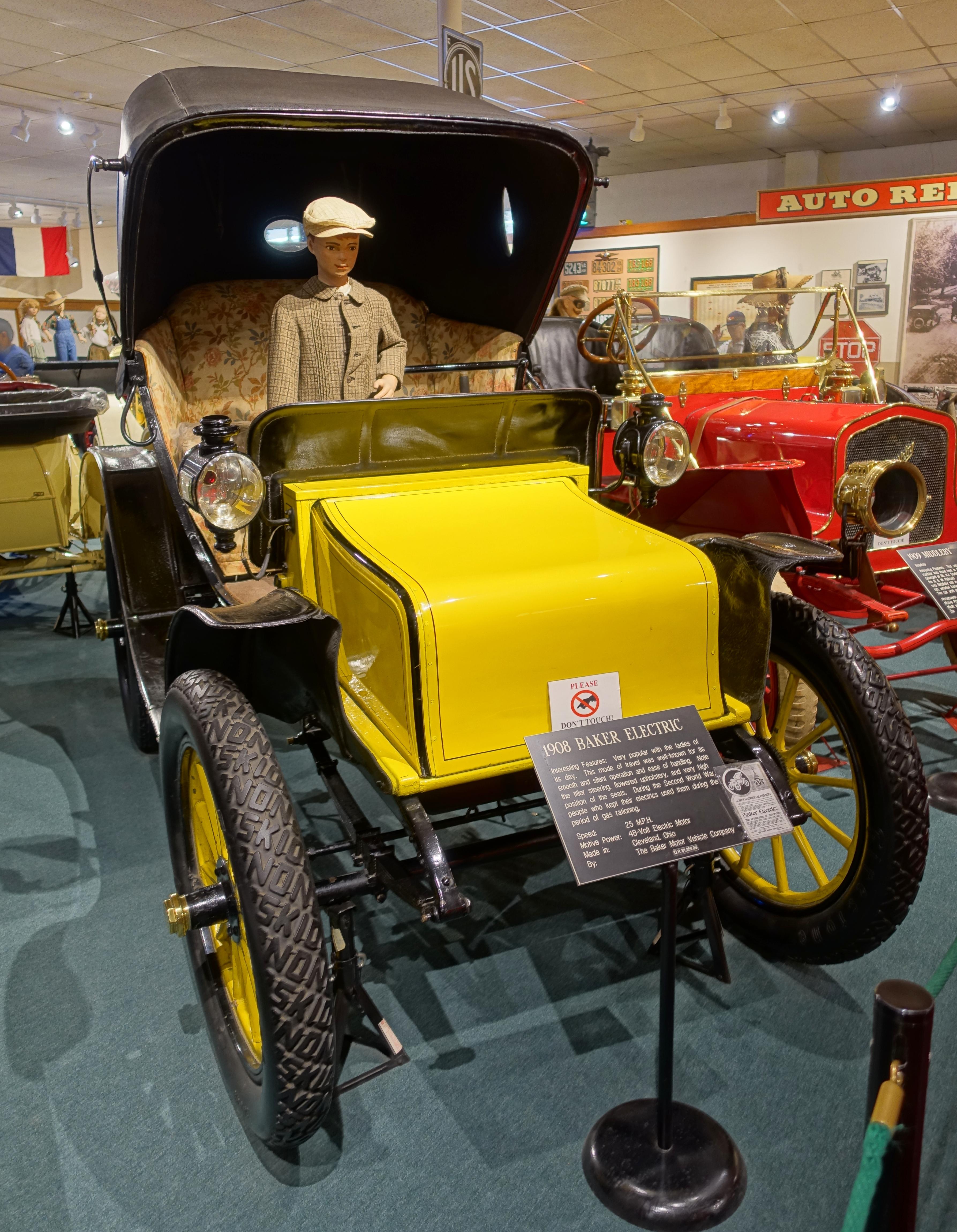 file baker electric automobile 1908 baker motor vehicle co cleveland ohio 48 volt electric. Black Bedroom Furniture Sets. Home Design Ideas