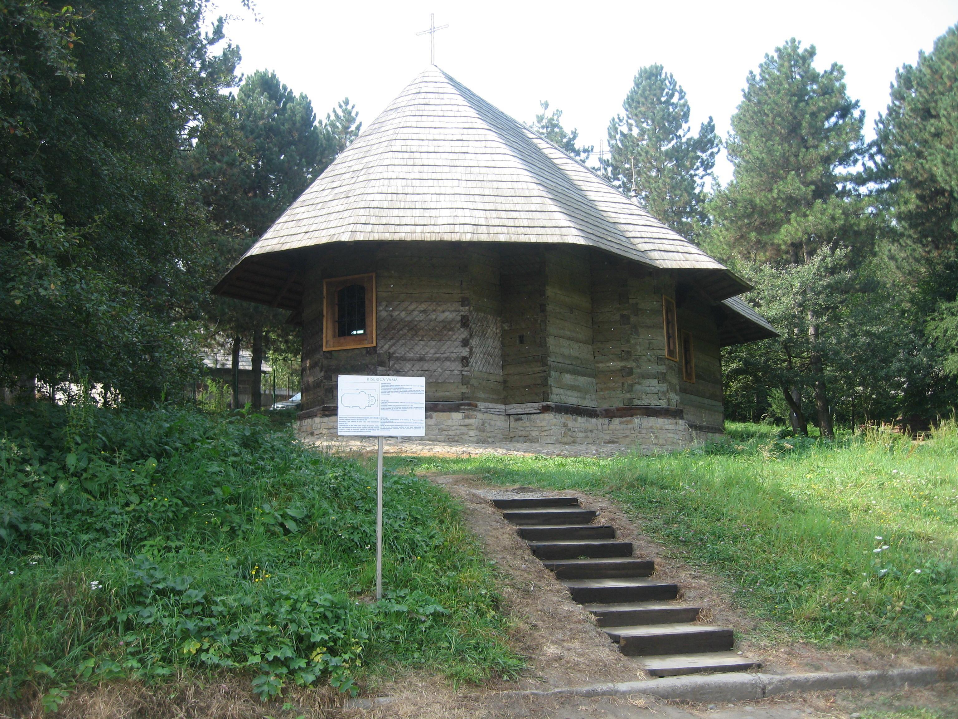 Biserica de lemn Înălțarea Domnului din Vama